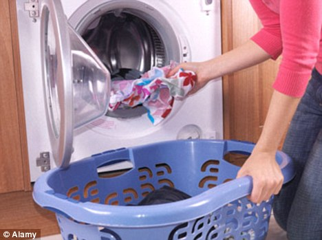 diamonds a washer woman s best friend microscopic pieces in washing powder help detergents