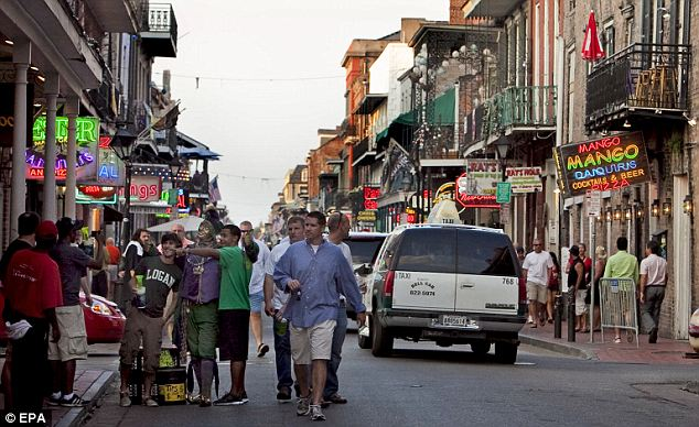 Back to hitting the streets: New Orleans, which saw its population shrivel in the mid-2000s due to Hurricane Katrina, saw the biggest rebound in city growth relative to suburbs in the last year