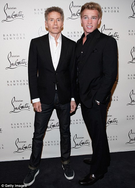 Rumoured romance: Fashion designer Calvin Klein, 69, and Gruber, 22 - pictured at an event in November - are believed to have dated for two years before splitting in January