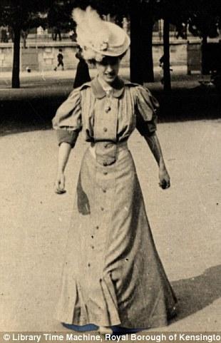 Paris, Helene du Bois, 4th June 1906