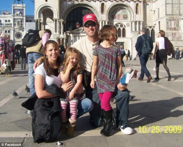 Vacation: But the family has had to put its normal life on hold during a series of health crises
