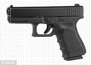 Aurora shooting weapons - .40 calibur glock handgun