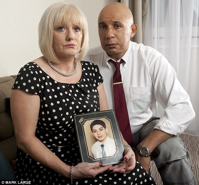 Rita Cronin and Peter Gorny, the parents of Kane Gorny. The inquest into their son's death in May 2009 at St George's Hospital, Tooting, in South London, has caused an outcry