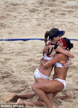 London Olympics US Womens Beach Volleyball Team Opts