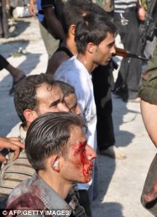 Un policía capturó en Aleppo