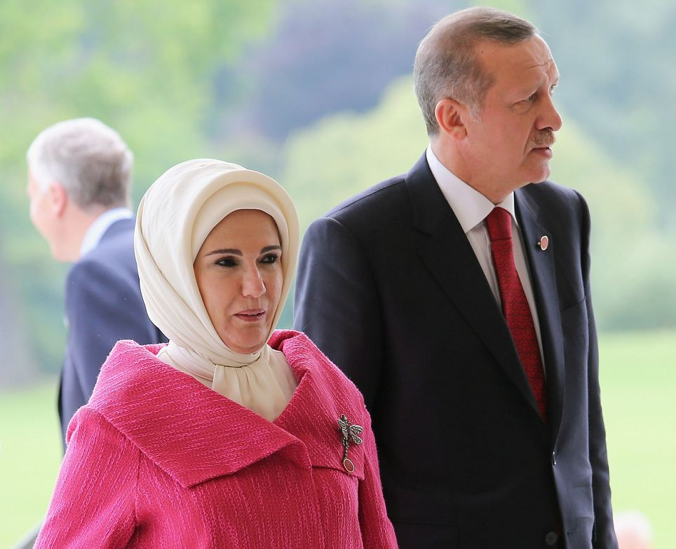 President of Turkey Abdullah G¸l and his wife Hayrunnisa Gul
