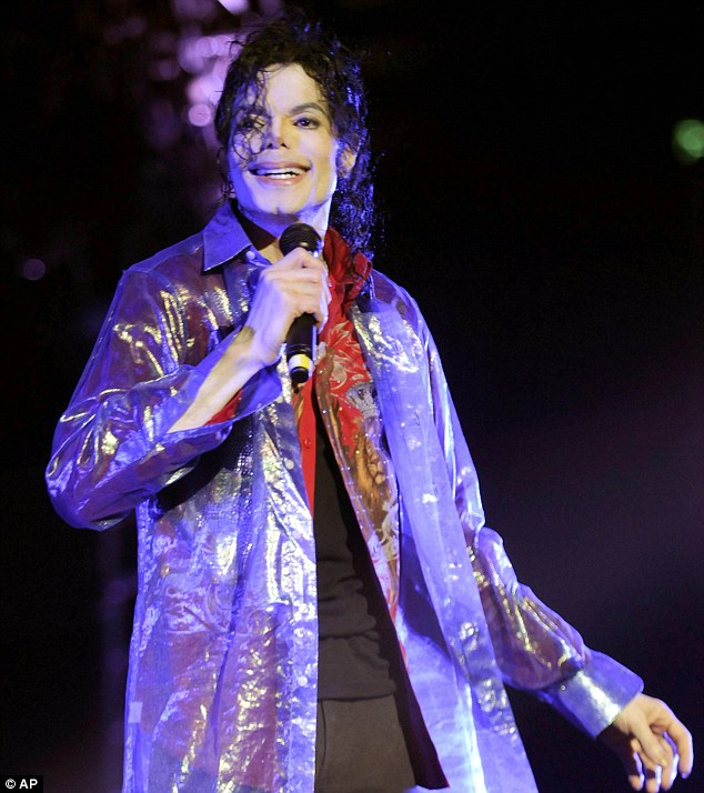Pop star Michael Jackson rehearses at the Staples Center in Los Angeles on Tuesday, just a few months before his death which would spark a bitter family dispute