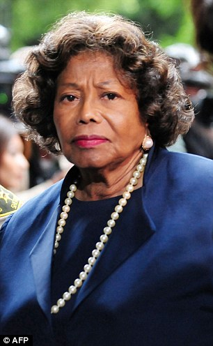 Michael Jackson's mother Katherine Jackson arrives at the courthouse in Los Angeles in this November 29, 2011 file photo for the sentencing of Doctor Conrad Murray