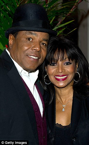 Tito Jackson and Rebbie Jackson