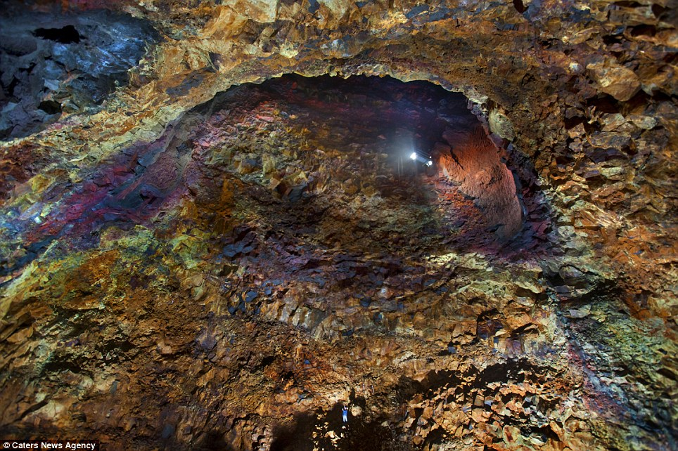 Nader Nazemi-Descending into a Dormant Volcano