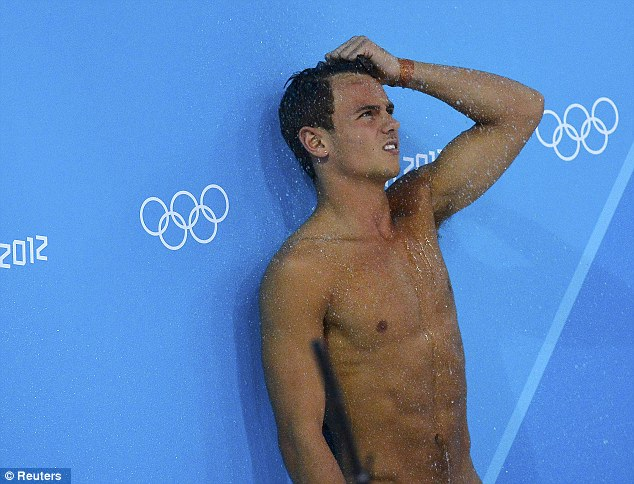A 17-year-old has been arrested after malicious tweets were sent to Olympic diver Tom Daley (pictured)