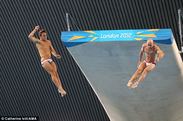 Both Daley and Waterfield will have another chance to win a medal in the 10m individual platform event