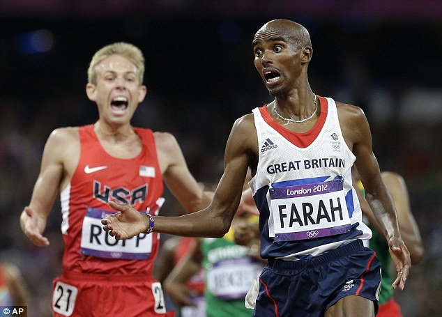 Farah and Krupp, GBR and USA, classic combo