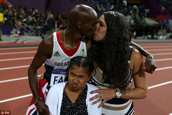 Mo Farah wins 10,000m - London 2012 Olympics | Daily Mail ...