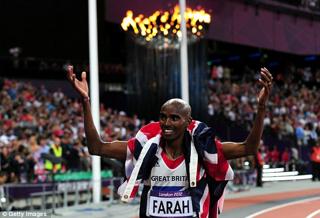 Amazing: Mo Farah made his move at the right time to take 10,000m gold