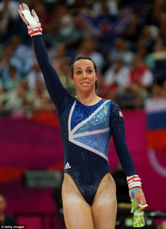 Beth Tweddle looked like she was going to get silver despite being let down by her dismount