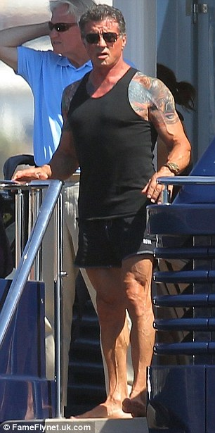 Sylvester Stallone Ripped