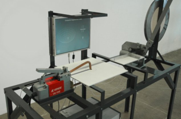 Computer augmented crafts, a machine that knows what you are going to do next, thanks to a webcam and complex software