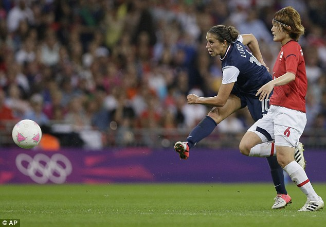 Screamer: Carli Lloyd scores USA's second goal from distance