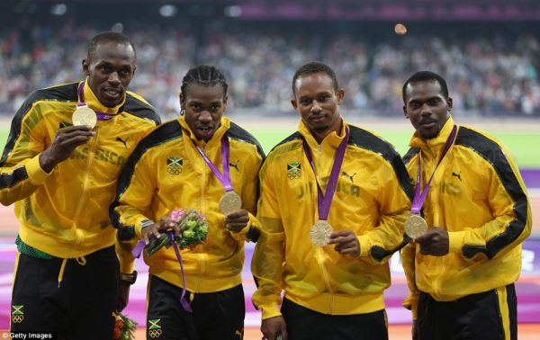 Usain Bolt and Jamaica win 4x100m gold at London 2012 ...