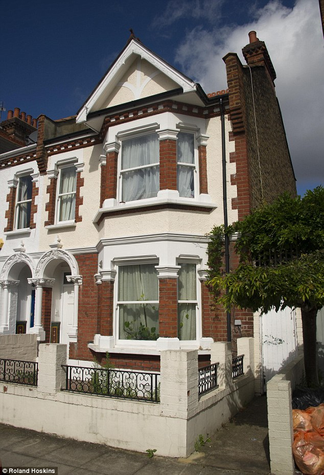 Eviction? Manal Mahmoud moved into this upmarket Fulham address following a £76,000 refit - half of which was paid for by public money - almost three years ago but there are claims it has been 'trashed' by the family