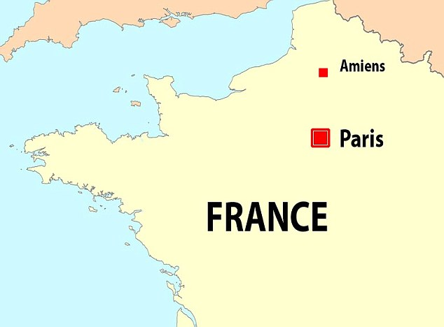 The rioting took place in the city of Amiens in the Somme region of northern France