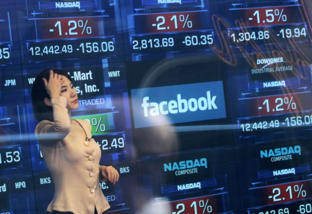 Facebook's share price took another tumble yesterday. On thursday, staff will be eligible to sell stock as their 'lock in' period ends.