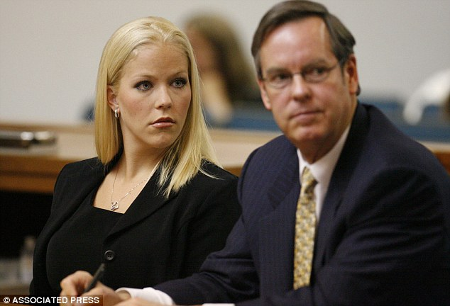 Deal: Lafave, pictured in 2006, avoided as much as 30 years behind bars after she accepted a plea deal