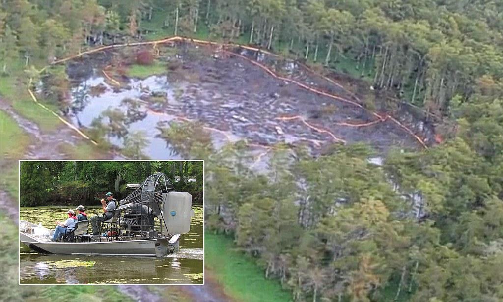 Louisiana Sinkhole Giant Sinkhole Expands To 526 Feet And