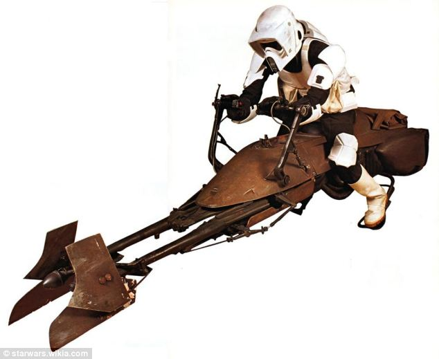 Image result for Star Wars Return of Jedi hoverbike