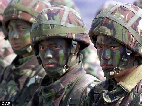 Soldiers have used face paint for centuries to help their skin blend in with the natural environment and shield them from enemies