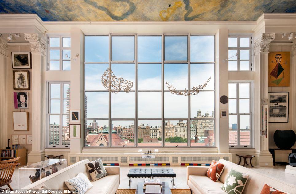 Beautiful 20million New York Apartment Boasts 24ft High