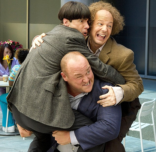 The Three Stooges The Farrelly Brothers Tribute To Vaudeville Stars Moe Larry And Curly Is As