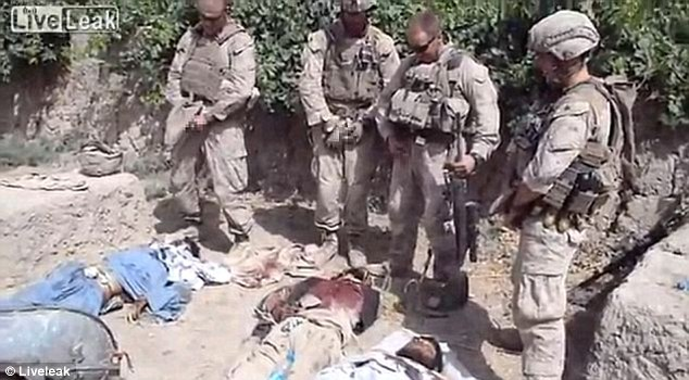 Outrage: The video inflamed tensions between US forces and the Afghans and was called a 'recruitment tool for the Taliban'