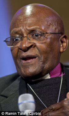 Cancelled: Archbishop Desmond Tutu refuses to share a platform with Tony Blair