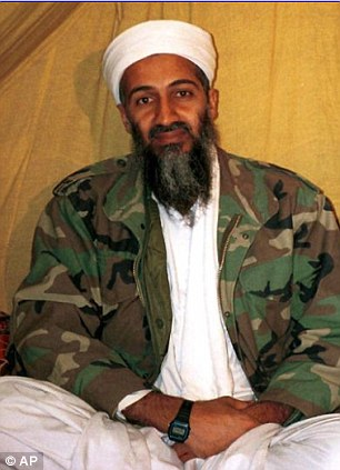 Hiding: Osama bin Laden hid from US troops for nearly ten years after the September 11, 2001, attacks