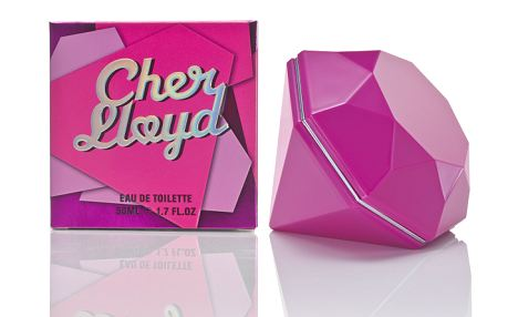 The Cher Lloyd perfume starts at £15 for 30ml, and features white chocolate, jasmin and quince