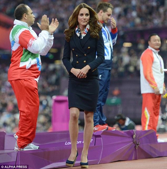 Snubbed: Kate Middleton walks away after Mehrdad Karam Zadeh refuses to shake her hand