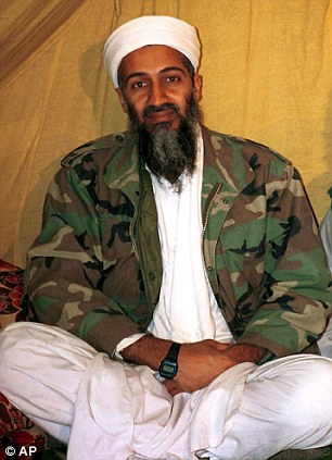 This is an undated file photo shows al Qaida leader Osama bin Laden, in Afghanistan