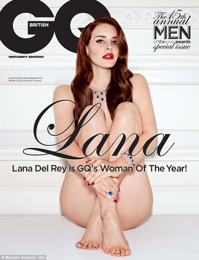 Hot stuff: The 26-year-old singer appears on the cover of the October issue of GQ magazine on sale now