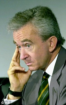 Bernard Arnault has applied for Belgian nationality