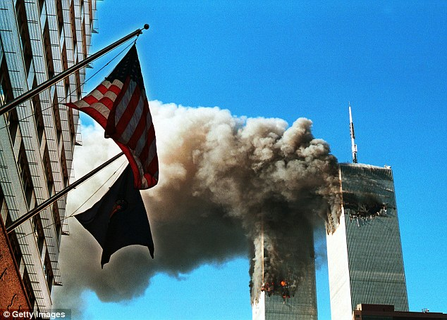 Tragedy: An estimated 3,000 people were killed when the terrorists hijacked passenger jets and flew them into the World Trade Center in New York City and the Pentagon in Arlington on 9/11