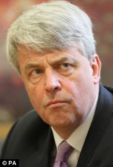 Last week the former health secretary Andrew Lansley (pictured) admitted that his own local hospital, Addenbrooke¿s, had ended its contract because the quality of the letters coming back was poor
