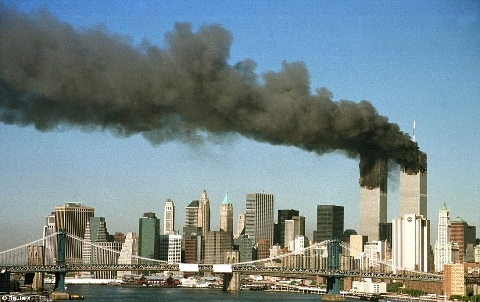 Horror: Nearly 3,000 people died in the 9/11 terrorist attacks on the World Trade Center and the Pentagon