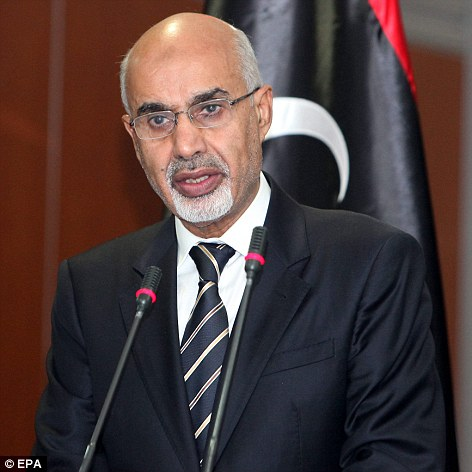 Speaking Wednesday, Mohamed al-Megaryef, president of Libya's highest political authority the General National Congress condemned the attack