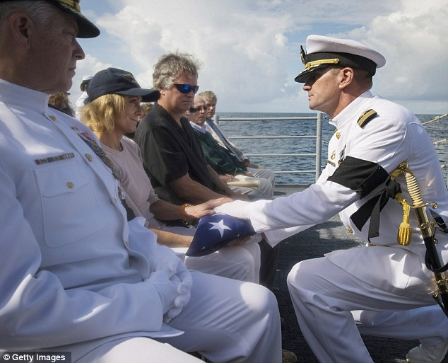 Neil Armstrong First Man On The Moon Buried At Sea In