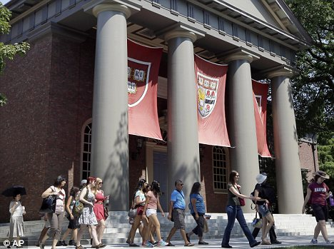Harvard: The elite Ivy League college has been hit by a mass cheating scandal