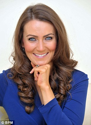 Heidi Agan, 32, who has given up her full-time job to be a Kate Middleton lookalike