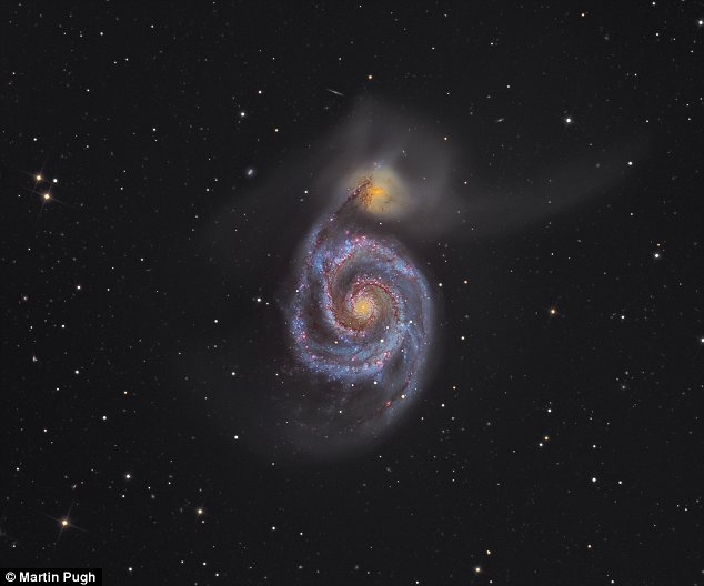 Winner of The Royal Observatory's 2012 Astronomy Photographer of the Year competition was Whirlpool Galaxy by Martin Pugh