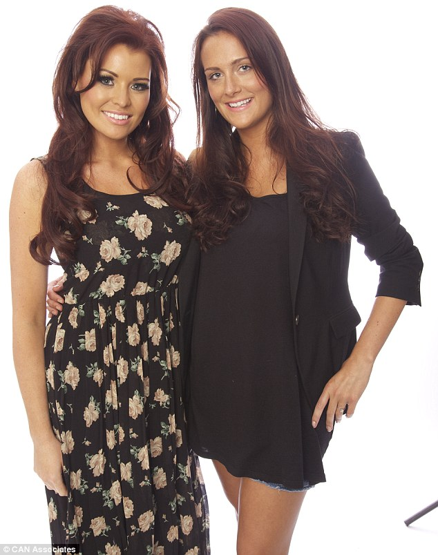 Jessica pictured with Alexis: The TOWIE star said she was delighted to be asked to model her collection